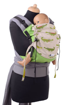 Huckepack Half Buckle Toddler - Krokodile