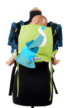 Huckepack Onbuhimo Medium-Vogel  (Unikat)