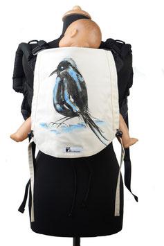 Huckepack Onbuhimo Toddler-Vogel (handgemaltes Unikat)
