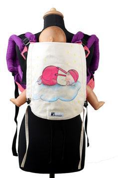 Huckepack Onbuhimo Toddler-Im Land der Träume (handgemaltes Unikat)