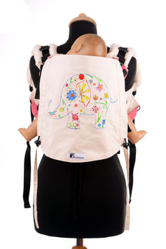 Huckepack Onbuhimo Toddler-Elefant (handgemalt)