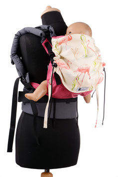 Huckepack Full Buckle medium-pink flamingos