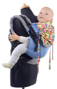Huckepack Full Buckle Toddler - Eulenfamilie