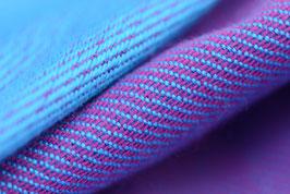 Huckepack-turquoise/violett
