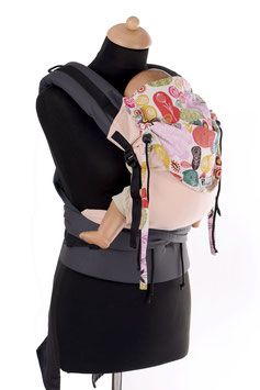 Huckepack Half Buckle Medium-rose meadow