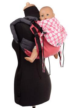 Huckepack Onbuhimo Medium-pink blumen