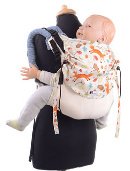 Huckepack Onbuhimo Toddler - Foxes