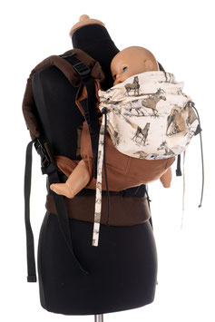 Huckepack Full Buckle Toddler-horses