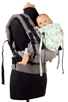 Huckepack Full Buckle Toddler-Füchse
