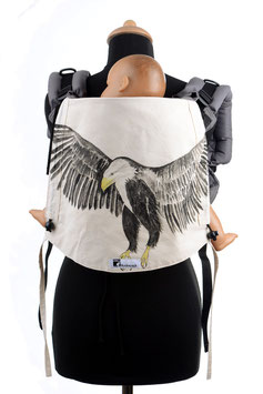 Huckepack Onbuhimo Toddler-Sea eagle (hand painted)