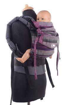 Huckepack Full Buckle Baby - Girasol Bellatrix / grau