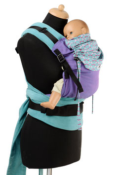 Huckepack Half Buckle Medium-purple drangonfly