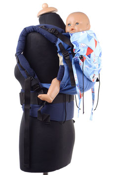 Huckepack Full Buckle medium-Flags