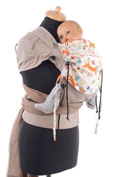 Huckepack Wrap Tai Baby-Füchse