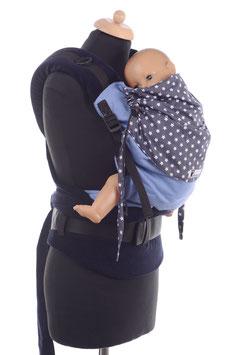 Huckepack Half Buckle Toddler-dunkelblaue Sterne