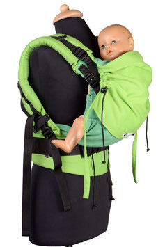 Huckepack Full Buckle Toddler-Green