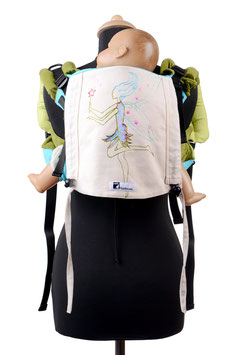 Huckepack Onbuhimo Medium-fairy (hand painted)
