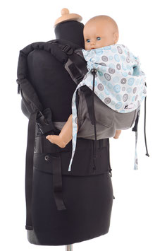 Huckepack Full Buckle medium-Circles