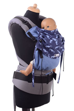 Huckepack Half Buckle Medium - Sea Horses