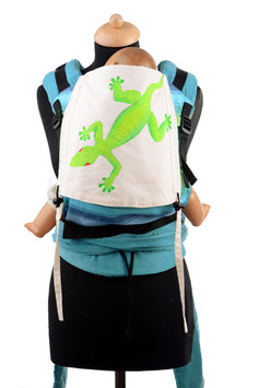 Huckepack Half Buckle Medium-Lizard (handpainted)/ Girasol Boy & Girl