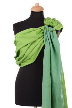 Huckepack Sling-apfelgrün/grün