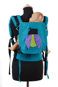 Huckepack Full Buckle Medium-Girasol Boy&Girl beetle