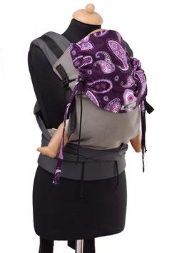 Huckepack Half Buckle Toddler - grau/lila Parsley