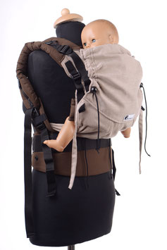 Huckepack Full Buckle Medium-hellbraun/braun (Standarddesign)