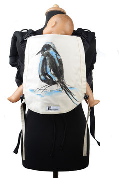 Huckepack Onbuhimo Toddler-bird (hand painted)