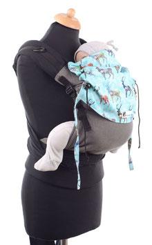Huckepack Half Buckle Toddler - Hirsche