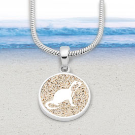 DUR Silber Anhänger Otter (ohne Kette)