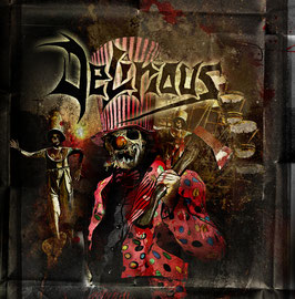 "DELIRIOUS ""Moshcircus"" CD"