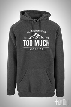 "Classic Tall Hoodie ""Take me to the Mountains"""