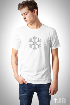 "Basic Shirt Reflection ""Snowflake"""