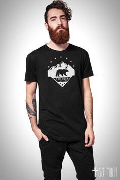 "Basic Long Tee ""Bear Mountain"""