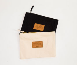 "Canvas Accessory Case ""Too Much Clothing"""