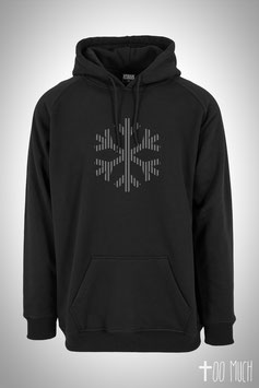 "Classic Tall Hoodie Reflection ""Snowflake"""