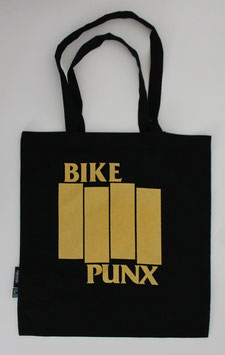 Bike Punx - Stoffbeutel (Gold)