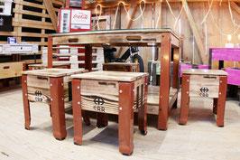 coole Sitzgelegenheit im SBB Rahmen Stil