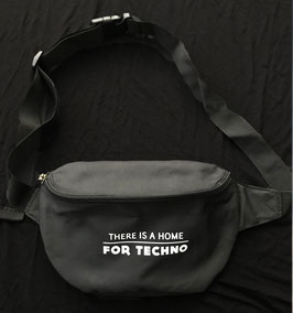 THERE IS A HOME FOR TECHNO HIP BAG SMALL