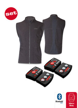 Set lithium pack rcB 1800 + Heat Vest 1.0 women