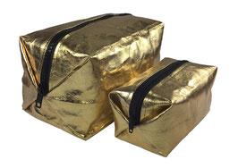 Kosmetiktasche - Gold