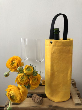 Wine Bag || Gelb