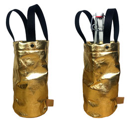 Wine Bag - Gold