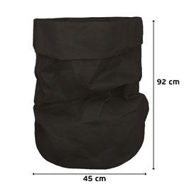 Papiersack  | Paper Bag - SCHWARZ XXXL Wäschesack