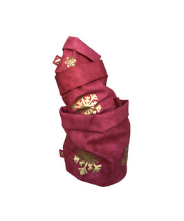 Paper Bag | rot Schneeflocke