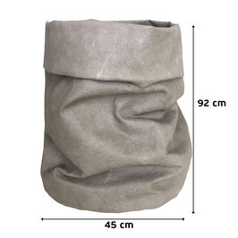 Papiersack  | Paper Bag GRAU - XXXL Wäschesack