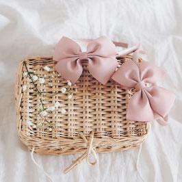 Haarreifen alt rosa