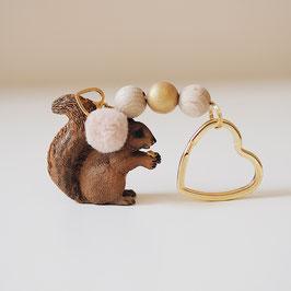 Schlüsselanhänger Eichhörnchen