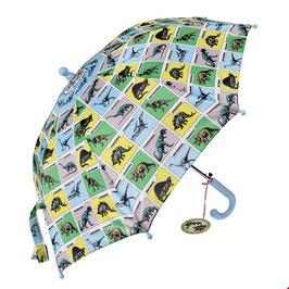 Kinder Regenschirm Dinosaurier
